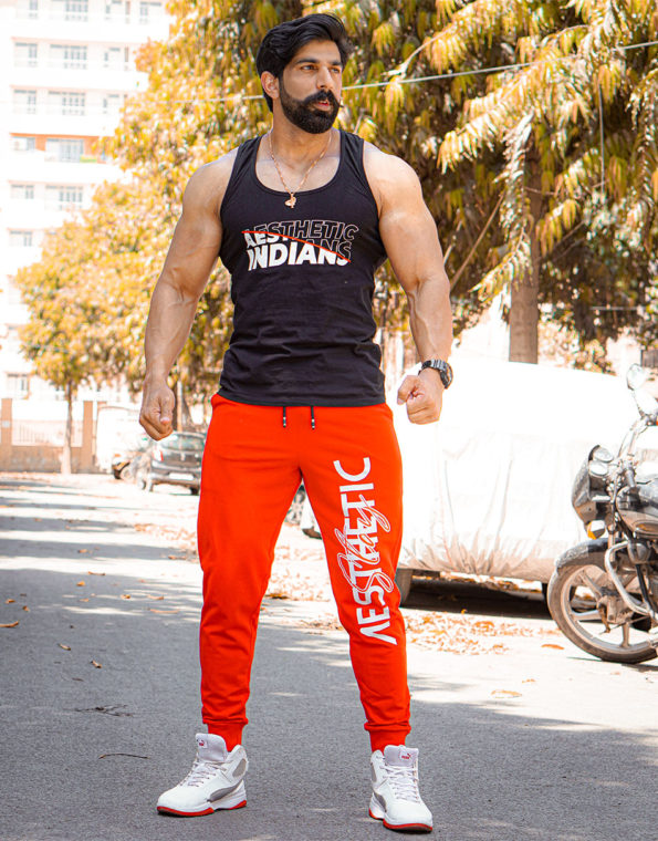 Red Aesthetic Jogger