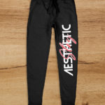 Aesthetic Indians Joggers Black