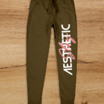 Aesthetic Indians Joggers Olive Green