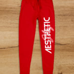 Aesthetic Indians Joggers Red